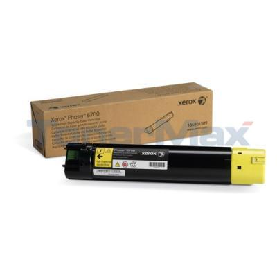 XEROX PHASER 6700 TONER CART YELLOW 12K